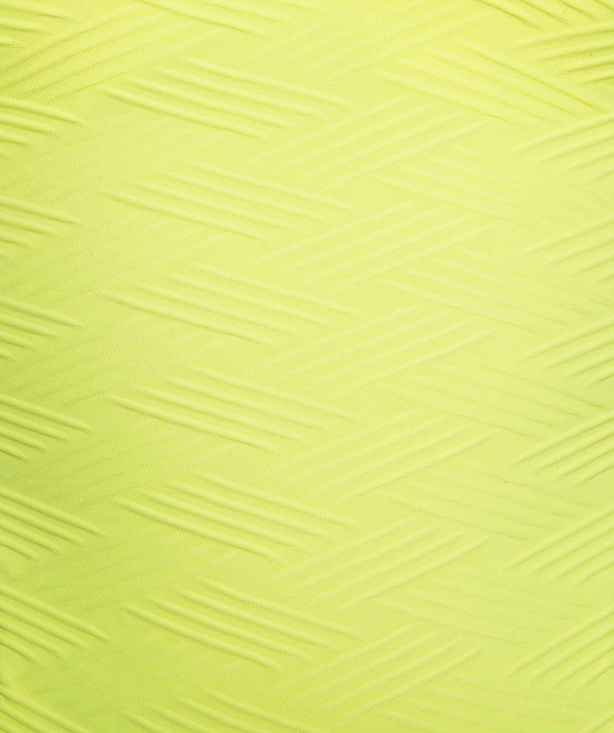 Vamp Vixen Push Up Swim Top - Light Yellow