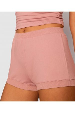 Style By Day Cheeky Shorts - Pink