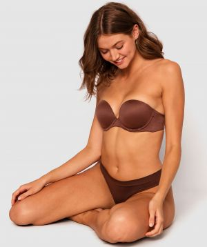 Body Bliss 2nd Gen Strapless Push Up Bra - Nude 6