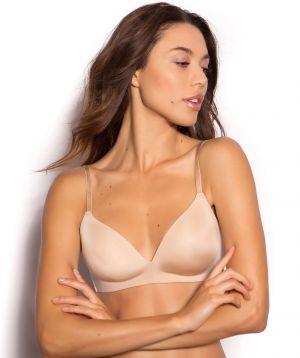 Jewel Wirefree Contour Bra - Nude