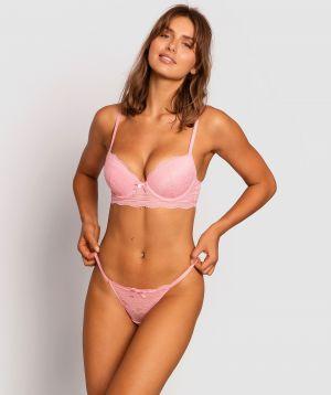 Olivia Mini V Knicker - Pink