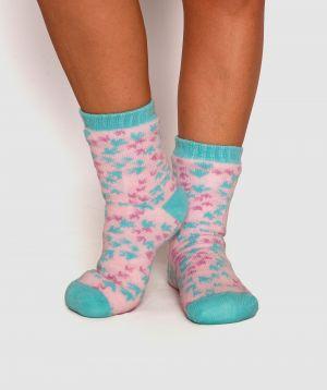 Slumber Party Dinosaur Socks - Print