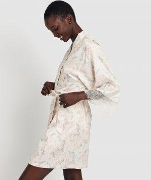 Evelyn Print Wrap - Floral Print