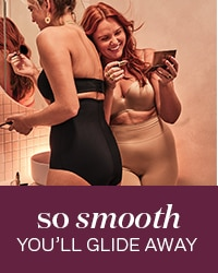 Shapewear so smooth you'll glide away