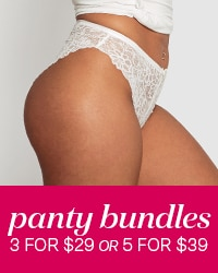 3 for $29 or 5 for $39 Panties